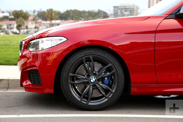 2017 BMW M240i Review front wheel