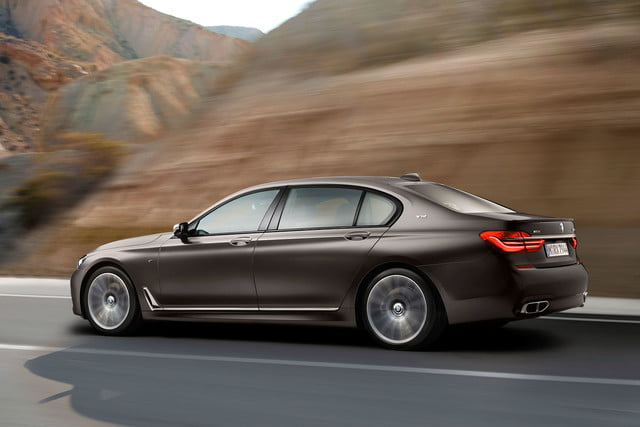 bmw is returning to its m car roots and ushering iperformance into the spotlight 2017 m760li xdrive 0018