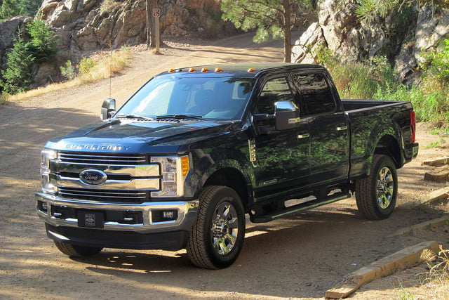 Ford Super Duty >> 2017 Ford Super Duty First Drive Digital Trends