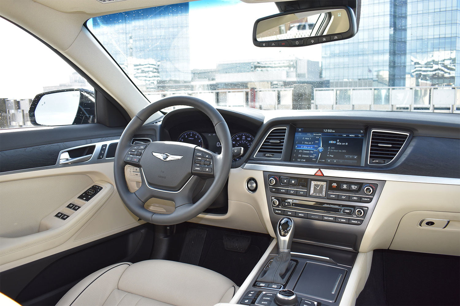 2017 genesis g80 3 8 awd review digital trends. Black Bedroom Furniture Sets. Home Design Ideas