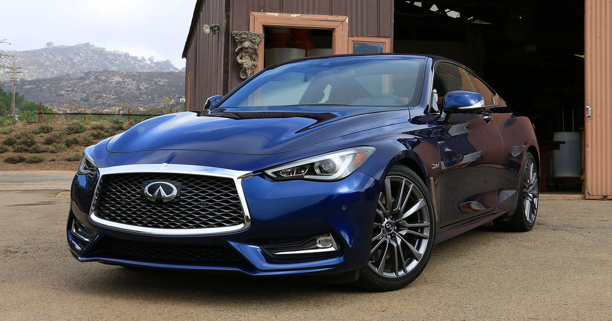 first drive 2017 infiniti q60 s red sport 400. Black Bedroom Furniture Sets. Home Design Ideas
