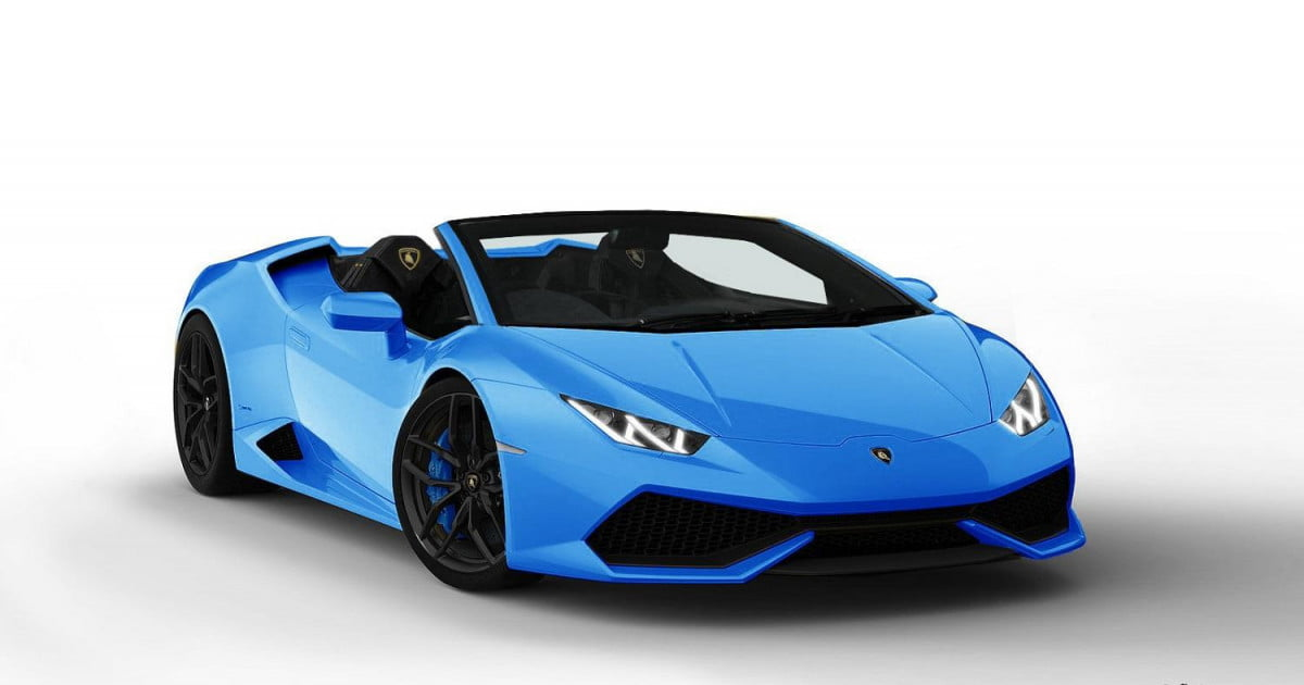 Lamborghini Could Show Us A Topless Huracan Next Year In