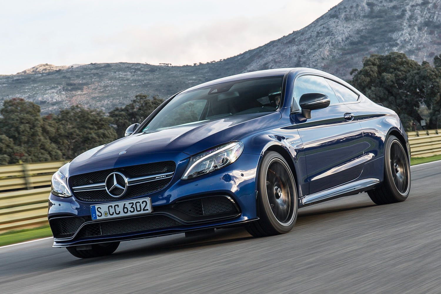 First Drive 2017 Mercedes Amg C63 S Coupe