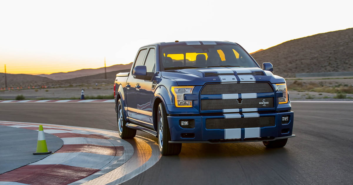 with 750hp shelby s f 150 super snake puts most cars to shame. Black Bedroom Furniture Sets. Home Design Ideas