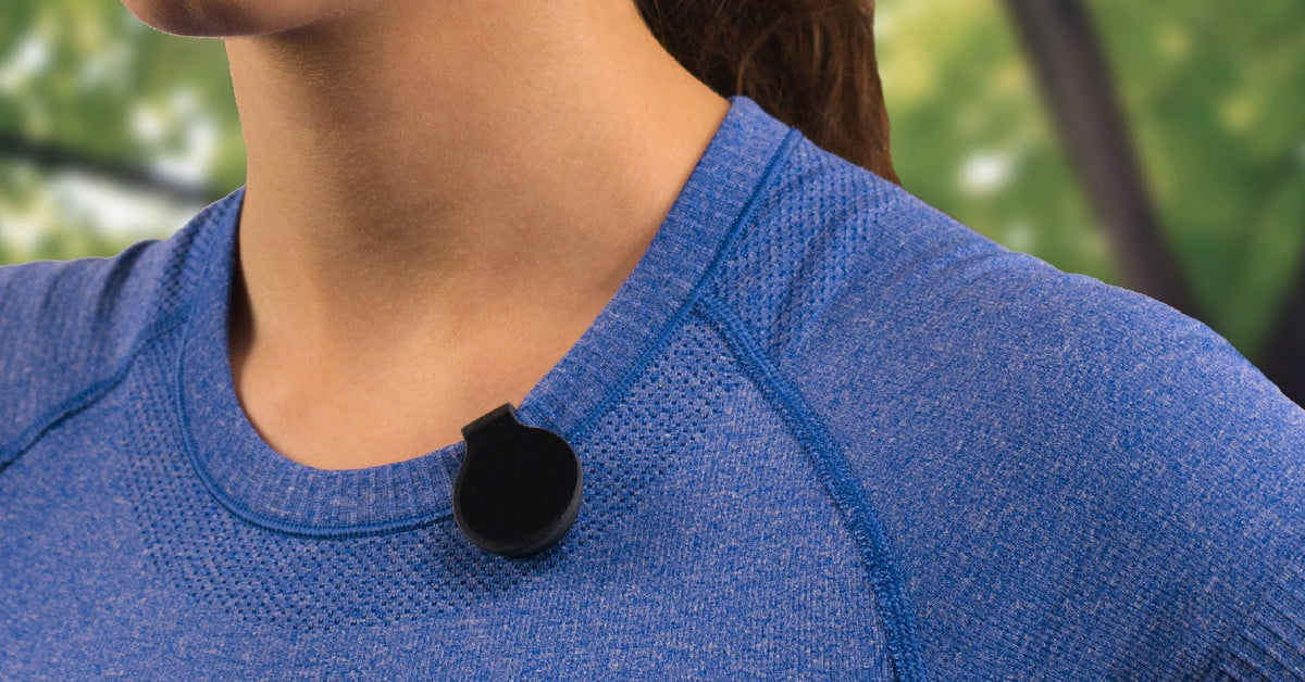 Never get sunburned again with QSun, a wearable gizmo that tracks UV exposure