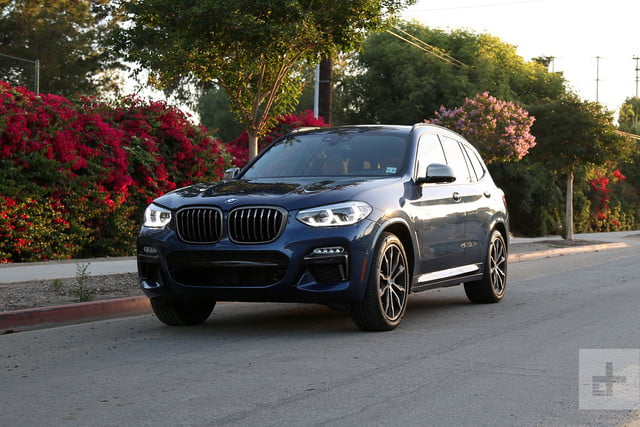 2018 bmw x3 m40i review digital trends. Black Bedroom Furniture Sets. Home Design Ideas