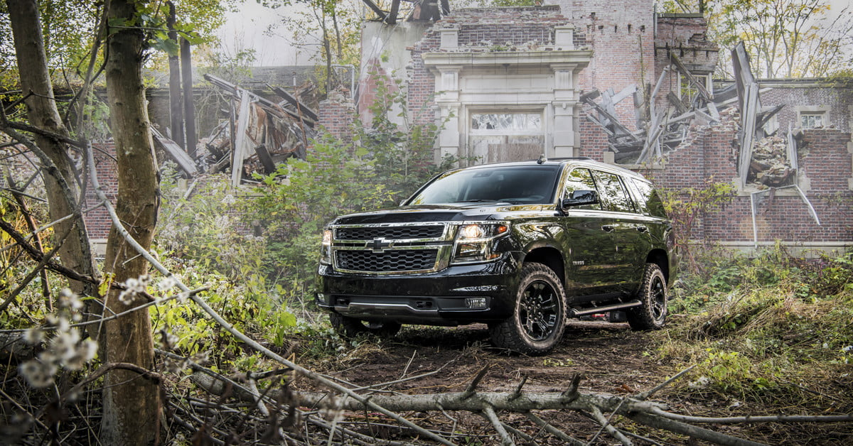 2018 Chevy Tahoe >> The 2018 Chevrolet Tahoe Midnight Edition Ghost Hunt | Digital Trends