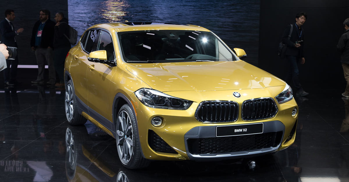 The 2018 Bmw X2 Takes Its Official Worldly Bow In Detroit Digital