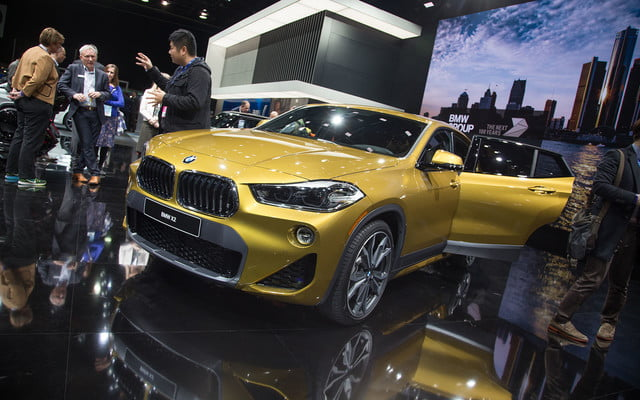 the 2018 bmw x2 takes its official worldly bow in detroit  17