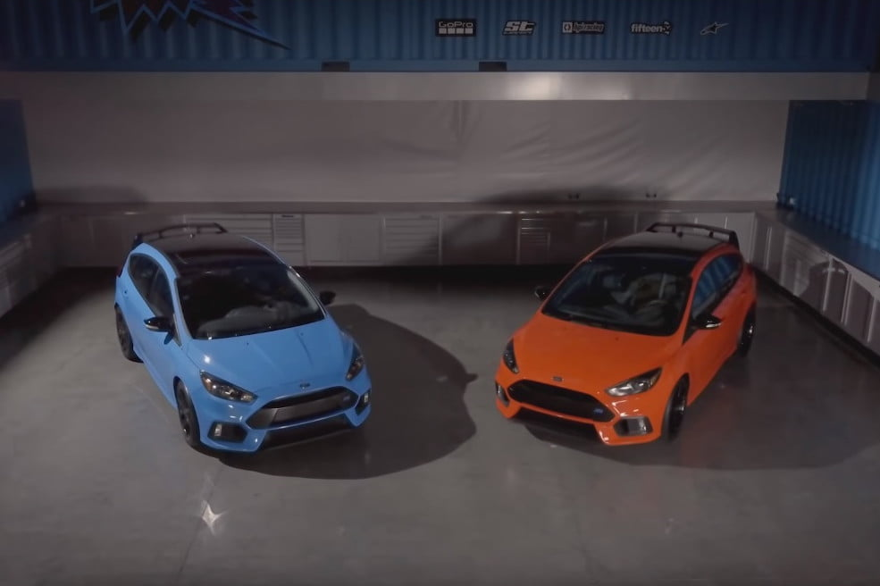 2018 ford focus rs.  2018 the ford focus rs gets its swan song with a limitededition model for 2018 intended ford focus rs