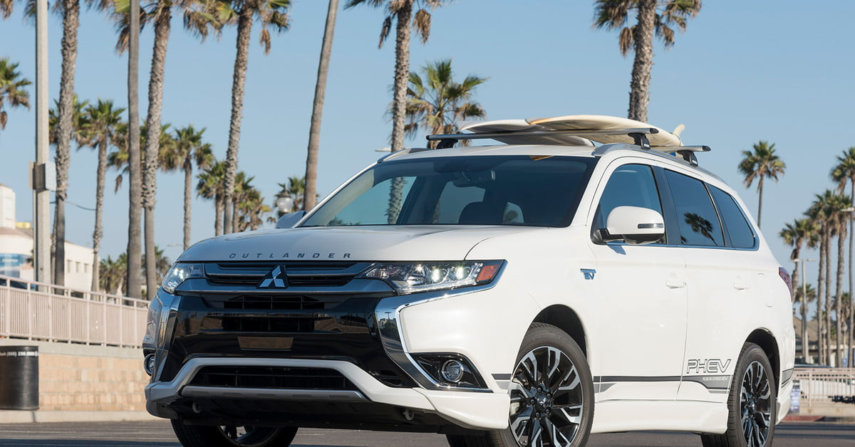2018 Mitsubishi Outlander PHEV first drive review ...
