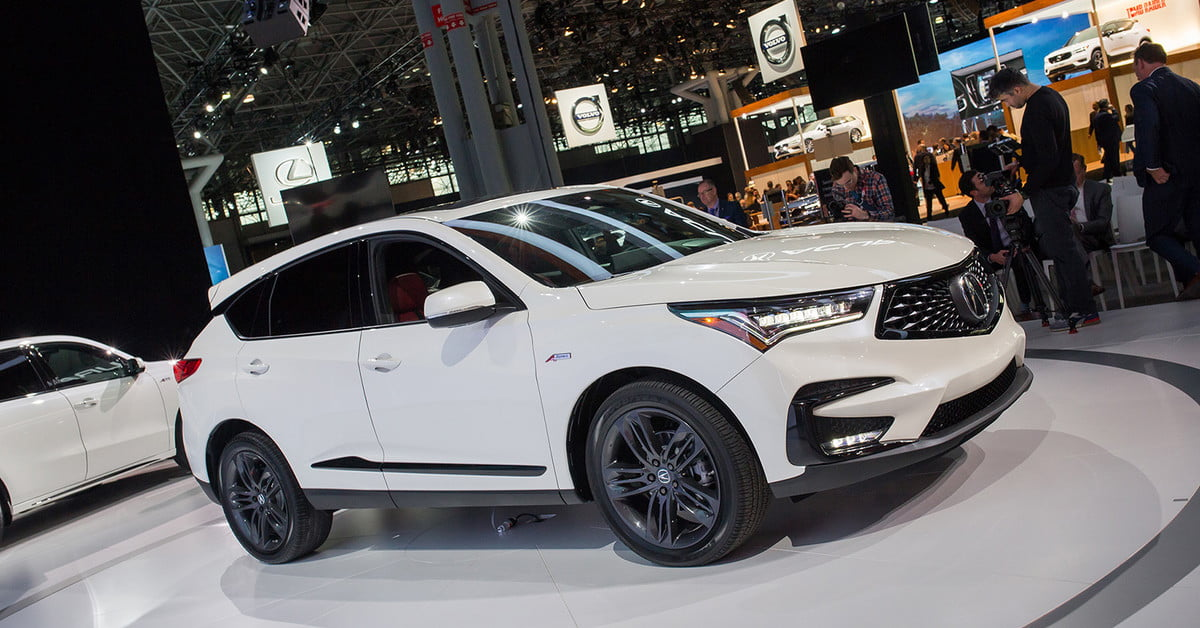 A Completely Redesigned 2019 Acura RDX Arrives in New York ...