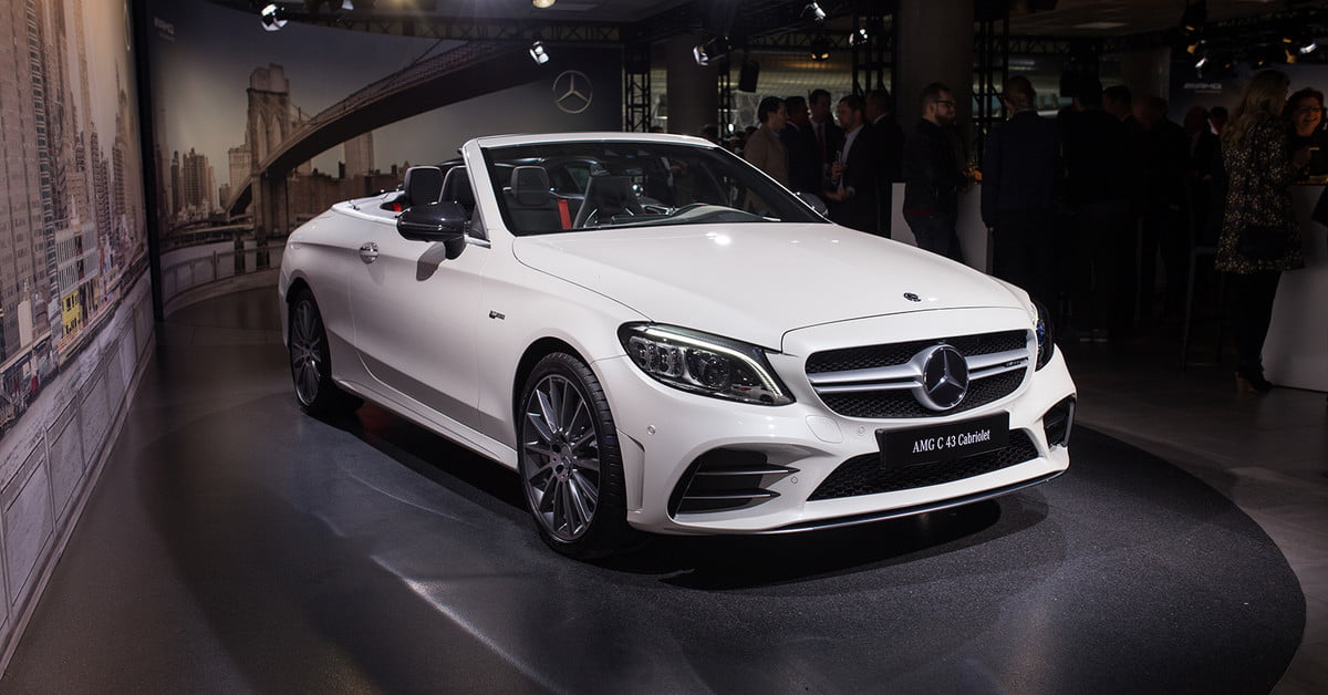 Mercedes amg subtly updates its c 63 lineup for new york for Mercedes benz of manhattan new york city