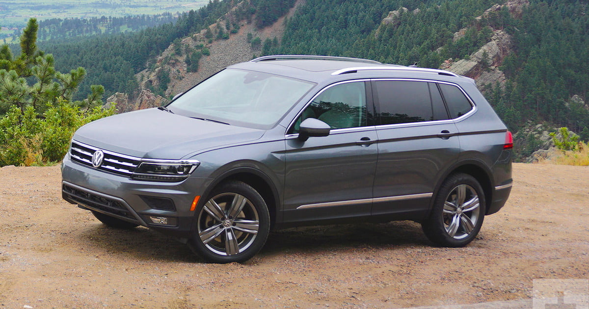 2018 vw tiguan first drive review digital trends. Black Bedroom Furniture Sets. Home Design Ideas