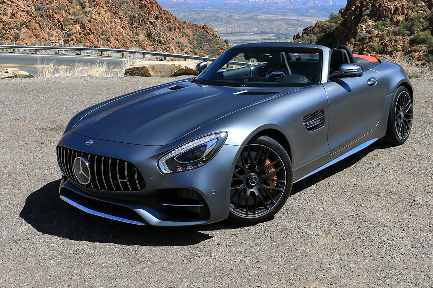 2018 Mercedes Amg Gt C Roadster First Drive Digital Trends