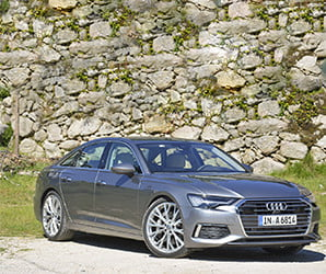 With top-notch tech, Audi's new A6 is a luxury cocoon built to cruise