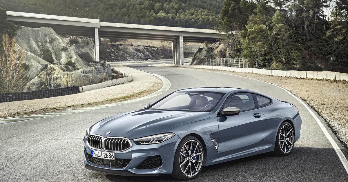 Here S Our First Look At The 2018 Bmw 8 Series In Full Production