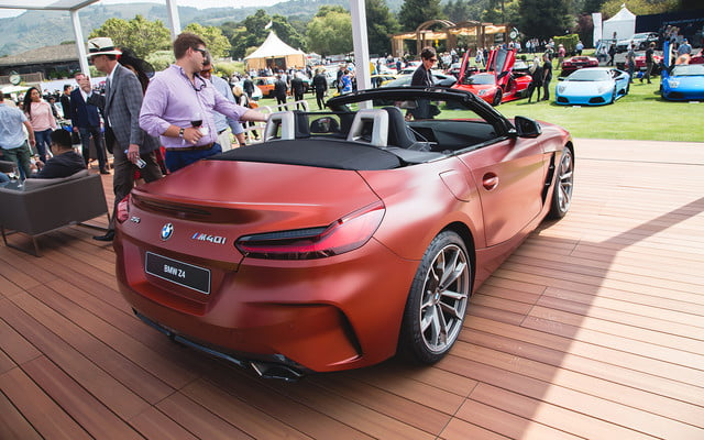 2019 Bmw Z4 M40i First Edition Unveiled At Pebble Beach Digital Trends