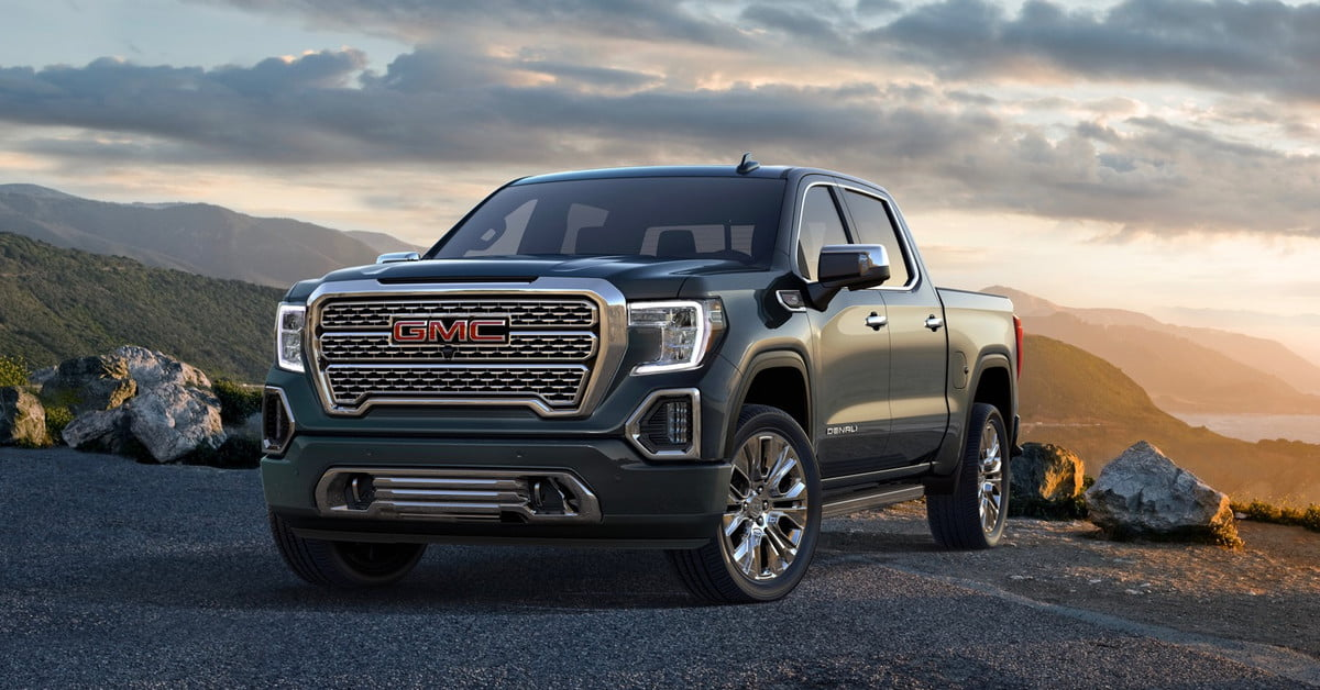 2019 Gmc Sierra Gets Carbon Fiber Pickup Box More Tech