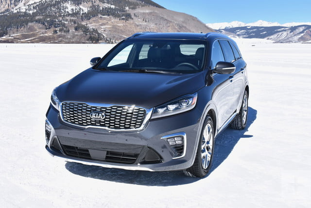 2019 kia sorento first drive review digital trends. Black Bedroom Furniture Sets. Home Design Ideas