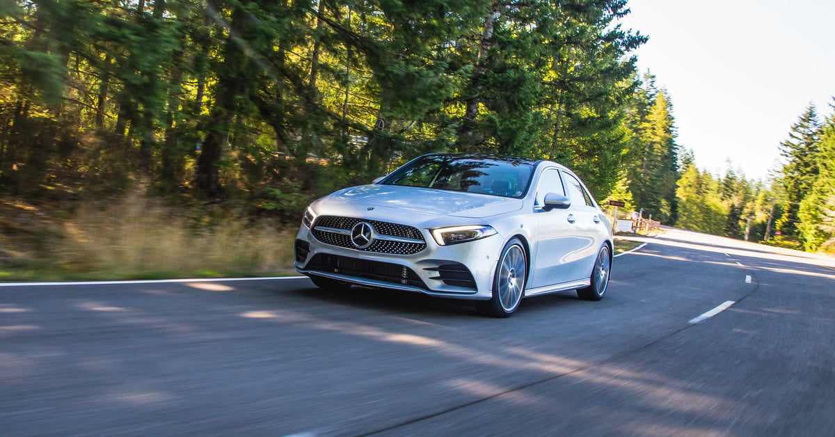 2019 mercedes benz a class sedan first drive digital trends
