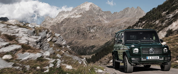 Mercedes-Benz updates the timeless G-Wagon for the modern world