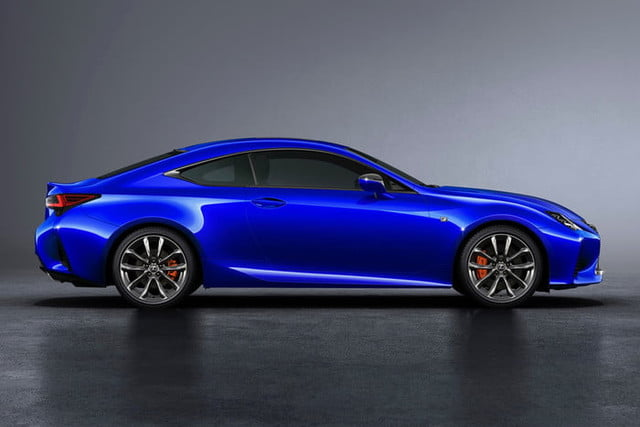 2019 Lexus RC Coupe Will Debut at 2018 Paris Motor Show ...