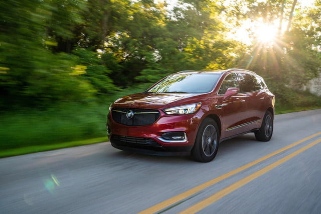 2020 buick enclave with sport touring package