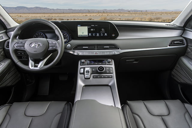 2020 hyundai palisade seats eight comes with useful tech 11