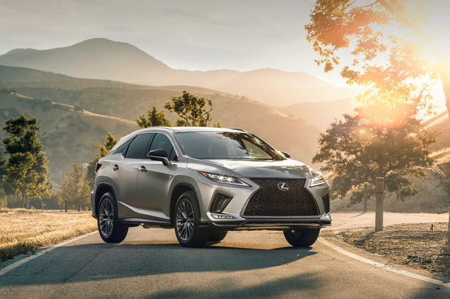 2020 lexus rx gets touchscreen smartphone connectivity official 2