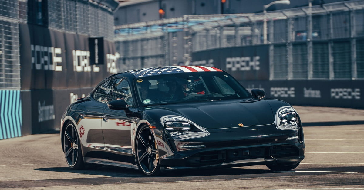 Hooked on gas? Porsche is about to give you a good reason to go electric