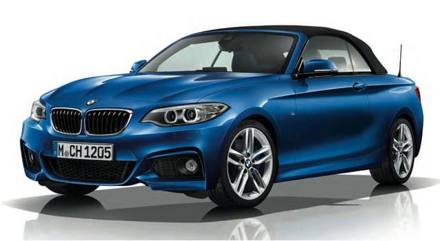 2015 BMW 2 Series Convertible with M Sport package
