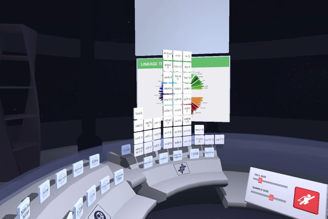 cancer virtual reality project 2 panel