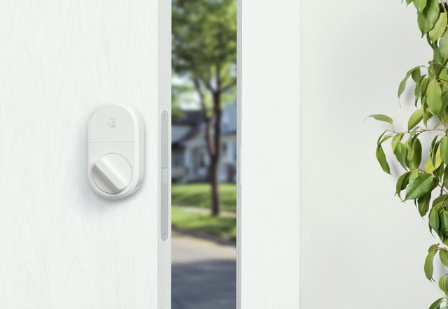 August celebrates No. 1 ranking with white, limited-edition smart lock
