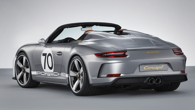 500hp porsche 911 speedster coming in 2019 as limited edition model 3583184 concept 2018 ag