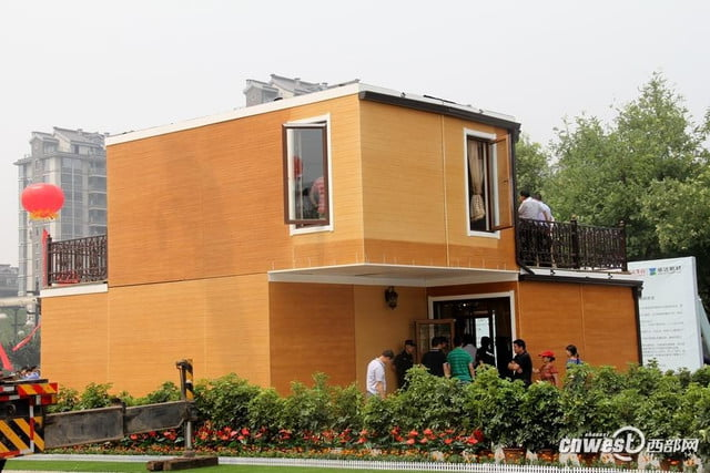 chinese company constructs 3d printed home in three hours 3dprinted9