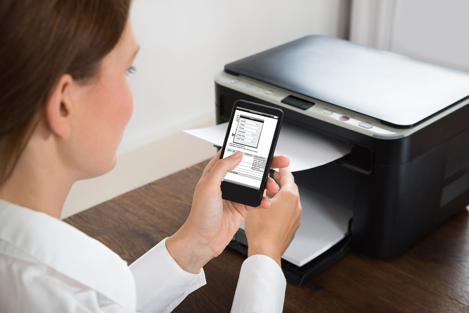 images How to Print Documents Wirelessly on an iPad with HP All in One Printer Remote