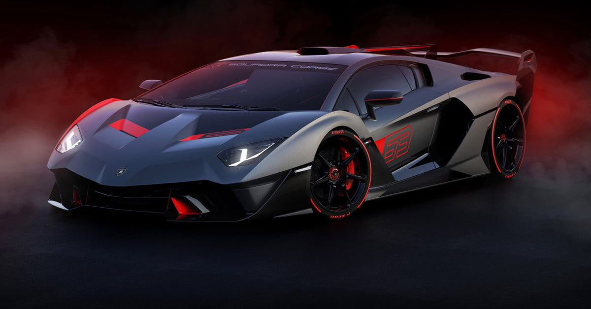 Lamborghini SC18 Is A One-Off Supercar Inspired By Racing