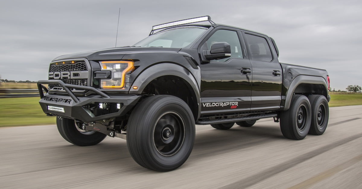Hennessey Velociraptor 6x6 >> Hennessey Ford Raptor 6x6 | Pictures, Specs, Performance | Digital Trends