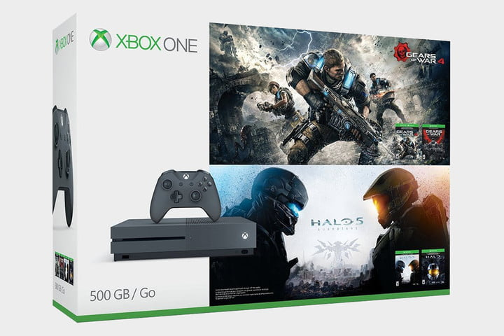 Xbox One S Bundle - Gears of War and Halo