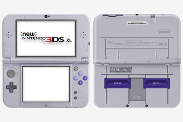 Get Your Nostalgia Fix With the Nintendo New 3DS XL Super NES