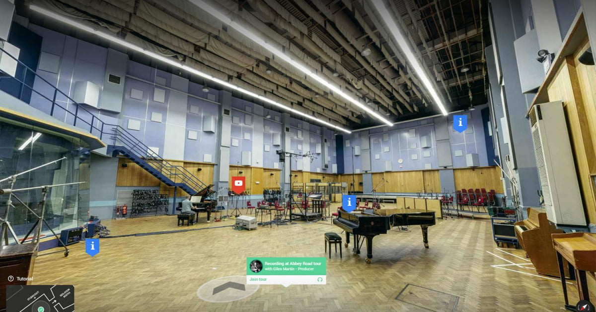 Inside Abbey Road offers an interactive tour of the famed