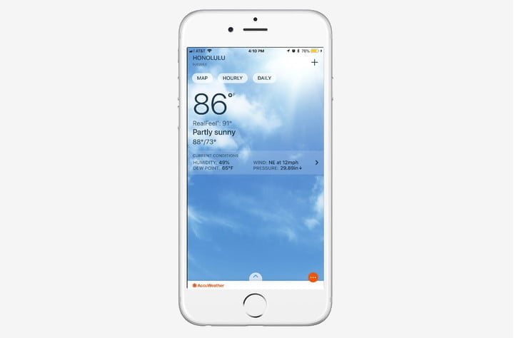 best weather apps for iphone accuweather