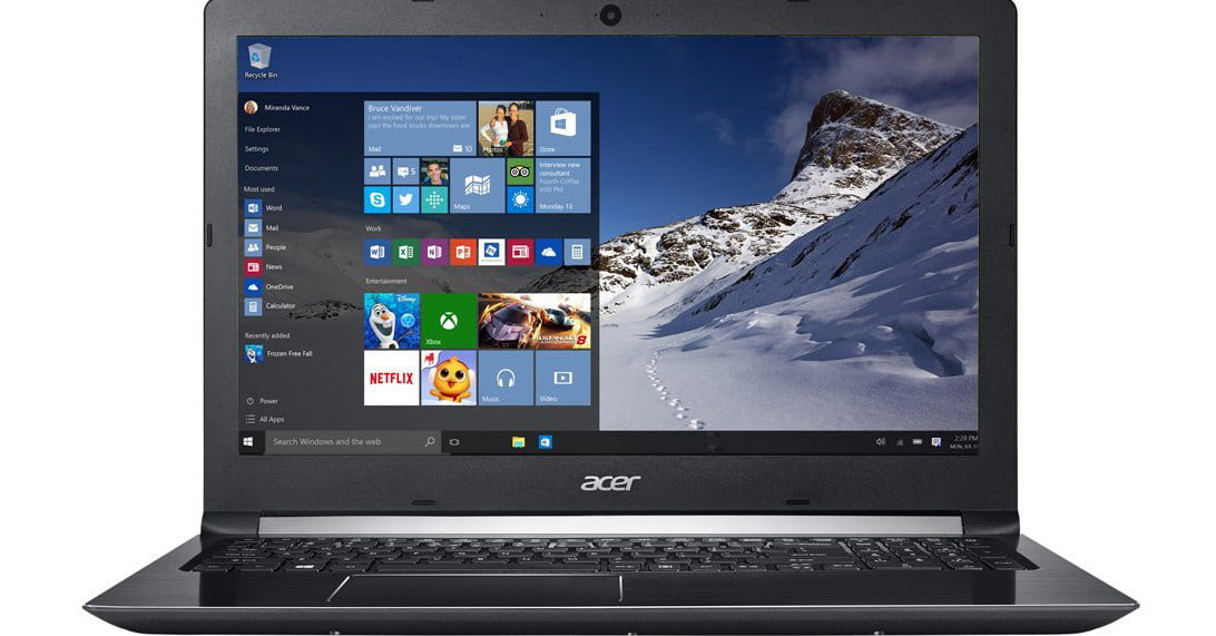 acer support product key