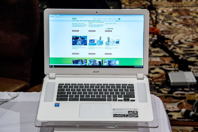 embargoed acer chromebook 15 14