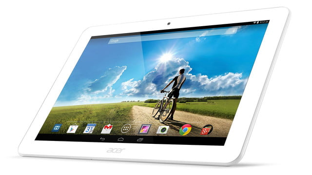 embargo 93 620am et acer goes tablet crazy ifa 2014 iconia tab 8 w 10 one left front angled white press image