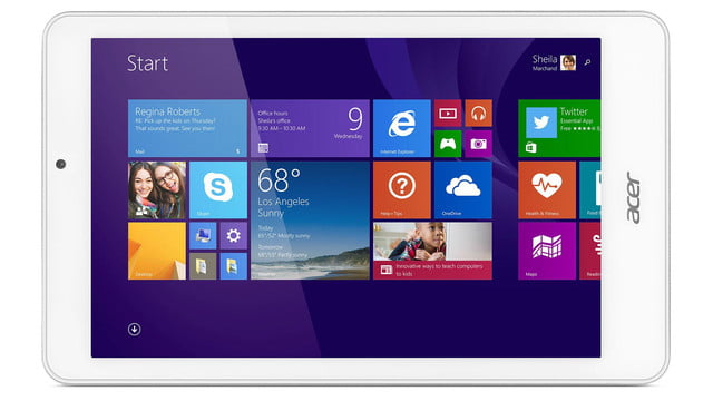 embargo 93 620am et acer goes tablet crazy ifa 2014 iconia tab 8 w 10 one horizontal press image