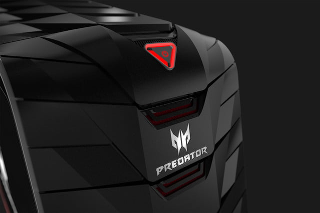 acer gives gamers the gear they need for glory with new predator hardware g6 close up right facing