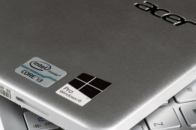 Acer Travelmate X TMX-M-6824 review stickers 2
