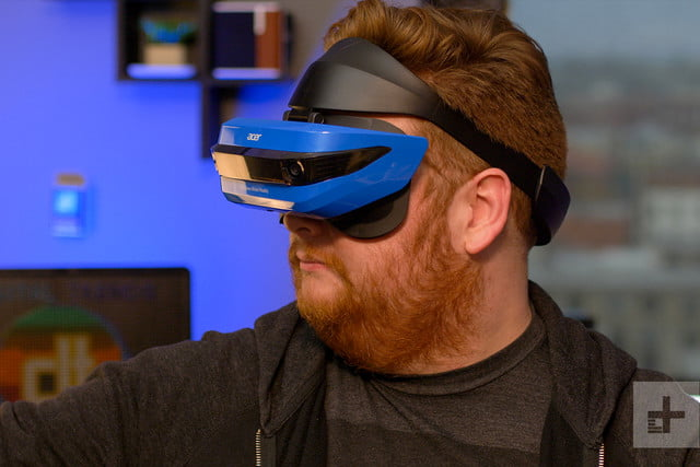 Acer Windows Mixed Reality Headset review lifestyle profile